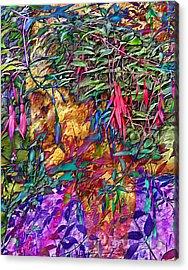 Garden Of Forgiveness Acrylic Print by Kurt Van Wagner