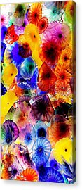 Acrylic Print featuring the photograph Garden Of Glass Triptych 2 Of 3 by Benjamin Yeager