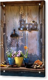 Garden Of Hope Acrylic Print by Lori Deiter