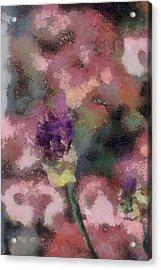 Garden Of Love Acrylic Print by Trish Tritz