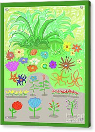 Garden Of Memories Acrylic Print by Fred Jinkins