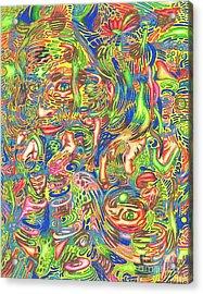 Garden Of Reflections Acrylic Print