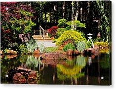 Garden Of Solitude Acrylic Print
