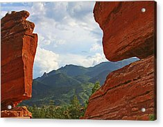 Garden Of The Gods - Colorado Springs Acrylic Print by Christine Till