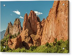 Garden Of The Gods Acrylic Print by Bill Gallagher