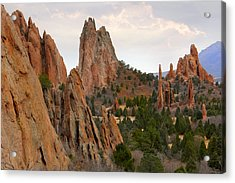 Garden Of The Gods - Colorado  Acrylic Print