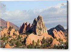 Garden Of The Gods Colorado Springs Acrylic Print