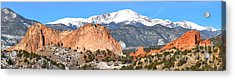 Acrylic Print featuring the photograph Garden Of The Gods Panorama by Adam Jewell