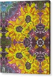 Garden Owls Acrylic Print