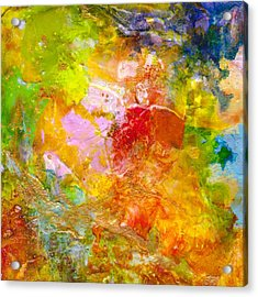 Garden Party 1 Acrylic Print by Jane Biven