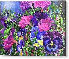 Garden Party Acrylic Print
