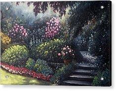 Garden Path Acrylic Print by Scott Jones