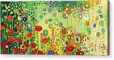 Garden Poetry Acrylic Print