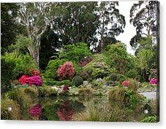 Garden Reflection Acrylic Print