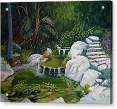 Garden Retreat Acrylic Print