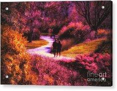 Garden Romance Acrylic Print