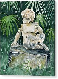 Garden Satyr Acrylic Print