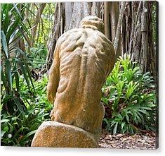 Garden Sculpture 1 Acrylic Print