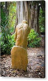 Garden Sculpture 2 Acrylic Print