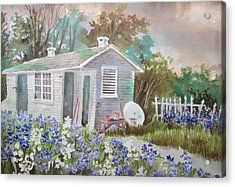 Garden Shed Two Acrylic Print