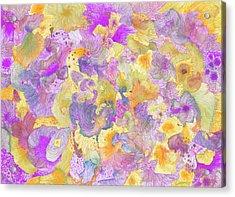 Garden #ss16dw021 Acrylic Print by Satomi Sugimoto