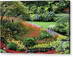 Garden Tapestry 4 Acrylic Print