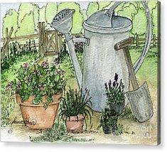 Garden Tools Acrylic Print