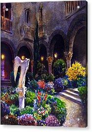 Garden Acrylic Print by Valeriy Mavlo