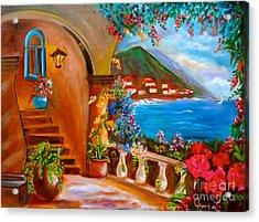 Garden Veranda 1 Jenny Lee Discount Acrylic Print