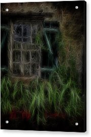 Garden Window 2 Acrylic Print by William Horden