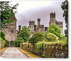 Acrylic Print featuring the photograph Gardens At Lismore Castle by Claudia Abbott