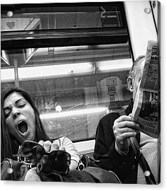 Gargantua Lady #metro #portrait Acrylic Print