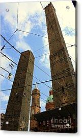 Garisenda And Asinelli Towers Acrylic Print