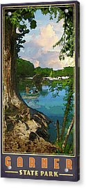Garner State Park Acrylic Print