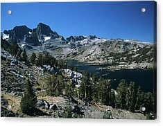 Garnet Lake And Banner Peak Acrylic Print