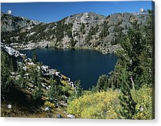 Garnet Lake Fall Color Acrylic Print