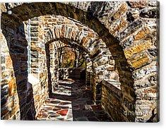 Garrett Chapel Balcony Acrylic Print