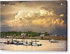 Garrison Cove Thunderstorm Acrylic Print by Benjamin Williamson