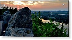 Garvin Heights Sunset Acrylic Print