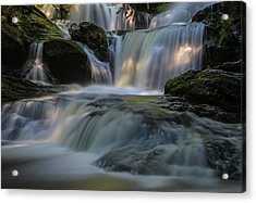 Acrylic Print featuring the photograph Garwin Falls  by Juergen Roth