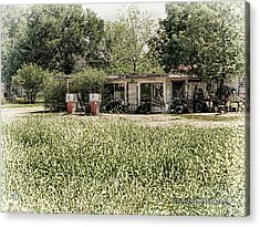 Acrylic Print featuring the photograph Gas 25 Cents by Charles McKelroy