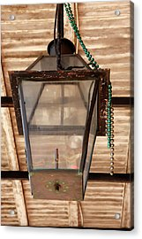 Acrylic Print featuring the photograph Gas Lamp French Quarter by KG Thienemann