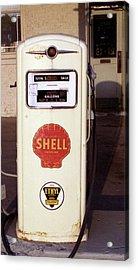 Gas Pump Acrylic Print by Michael Peychich
