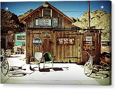 Gas Station Acrylic Print