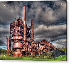 Gas Works Park - Seattle Acrylic Print
