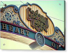 Gaslamp Close Up Acrylic Print