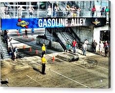 Gasoline Alley Acrylic Print