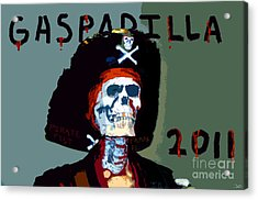 Gasparilla 2011 Work Number Two Acrylic Print by David Lee Thompson