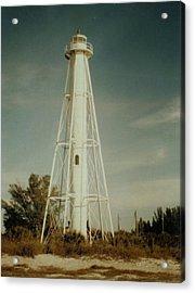 Gasparilla Fl Lighthouse Acrylic Print by Lois Lepisto