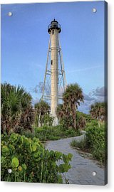Acrylic Print featuring the photograph Gasparilla Island Lighthouse 2 by Donna Kennedy